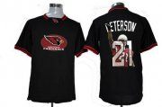 Wholesale Cheap Nike Cardinals #21 Patrick Peterson Black Men's NFL Game All Star Fashion Jersey