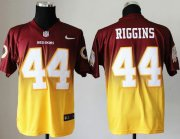 Wholesale Cheap Nike Redskins #44 John Riggins Burgundy Red/Gold Men's Stitched NFL Elite Fadeaway Fashion Jersey