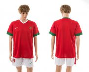 Wholesale Cheap Indonesia Blank Red Home Soccer Country Jersey