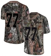 Wholesale Cheap Nike Broncos #77 Sam Jones Camo Men's Stitched NFL Limited Rush Realtree Jersey