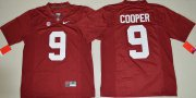 Wholesale Cheap Men's Alabama Crimson Tide #9 Amari Cooper Red Limited Stitched College Football Nike NCAA Jersey