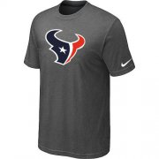 Wholesale Cheap Houston Texans Sideline Legend Authentic Logo Dri-FIT Nike NFL T-Shirt Crow Grey