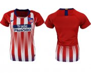 Wholesale Cheap Women's Atletico Madrid Blank Home Soccer Club Jersey