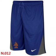Wholesale Cheap Nike Holland 2014 World Soccer Performance Shorts Blue