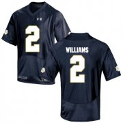 Wholesale Cheap Notre Dame Fighting Irish 2 Dexter Williams Navy College Football Jersey