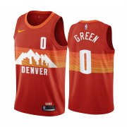 Wholesale Cheap Nike Nuggets #0 JaMychal Green Red NBA Swingman 2020-21 City Edition Jersey