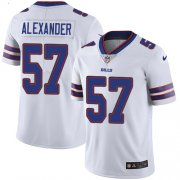 Wholesale Cheap Nike Bills #57 Lorenzo Alexander White Men's Stitched NFL Vapor Untouchable Limited Jersey