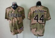 Wholesale Cheap Cubs #44 Anthony Rizzo Camo Commemorative Military Day Cool Base Stitched MLB Jersey