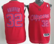 Wholesale Cheap Los Angeles Clippers #32 Blake Griffin Revolution 30 Swingman Red Big Color Jersey