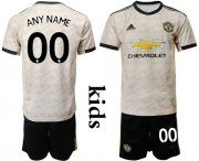 Wholesale Cheap Manchester United Personalized Away Kid Soccer Club Jersey