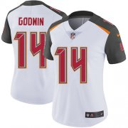 Wholesale Cheap Nike Buccaneers #14 Chris Godwin White Women's Stitched NFL Vapor Untouchable Limited Jersey