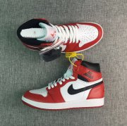 Wholesale Cheap Air Jordan 1 Rare Air Chicago Shoes Red/White-Red