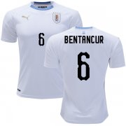 Wholesale Cheap Uruguay #6 Bentancur Away Soccer Country Jersey