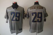 Wholesale Cheap Nike Rams #29 Eric Dickerson Grey Shadow Men's Stitched NFL Elite Jersey