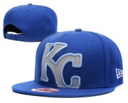 Wholesale Cheap Kansas City Royals Snapback Ajustable Cap Hat GS 2