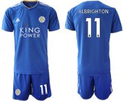 Wholesale Cheap Leicester City #11 Albrighton Home Soccer Club Jersey