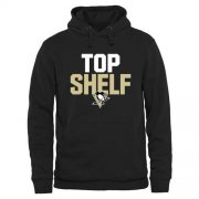 Wholesale Cheap Pittsburgh Penguins Top Shelf Pullover Hoodie Black
