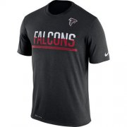 Wholesale Cheap Men's Atlanta Falcons Nike Practice Legend Performance T-Shirt Black