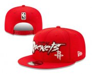 Wholesale Cheap Houston Rockets Snapback Ajustable Cap Hat YD 20-04-07-01