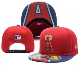 Wholesale Cheap MLB Los Angeles Angels of Anaheim Snapback Ajustable Cap Hat YD2