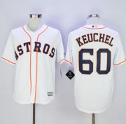 Wholesale Cheap Astros #60 Dallas Keuchel New White Cool Base Stitched MLB Jersey