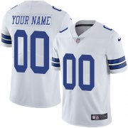 Wholesale Cheap Nike Dallas Cowboys Customized White Stitched Vapor Untouchable Limited Youth NFL Jersey