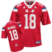 Wholesale Cheap Colts #18 Peyton Manning 2011 Red Pro Bowl Stitched NFL Jersey