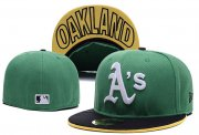Wholesale Cheap Oakland Athletics fitted hats 03