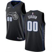 Wholesale Cheap Nike Magic #00 Aaron Gordon Black NBA Swingman City Edition 2018-19 Jersey