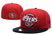 Wholesale Cheap San Francisco 49ers fitted hats07