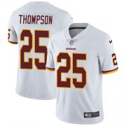 Wholesale Cheap Nike Redskins #25 Chris Thompson White Men's Stitched NFL Vapor Untouchable Limited Jersey