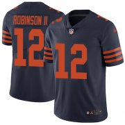 Wholesale Cheap Nike Bears #12 Allen Robinson II Navy Blue Alternate Men's Stitched NFL Vapor Untouchable Limited Jersey