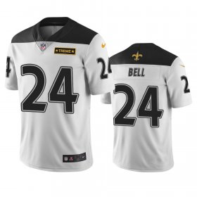 Wholesale Cheap New Orleans Saints #24 Vonn Bell White Vapor Limited City Edition NFL Jersey