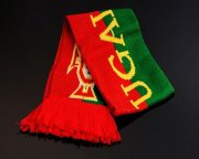 Wholesale Cheap Portugal Soccer Football Scarf Red & Green