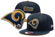 Wholesale Cheap St. Louis Rams Adjustable Snapback Hat YD160627135