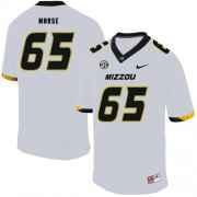 Wholesale Cheap Missouri Tigers 65 Mitch Morse White Nike College Football Jersey