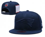 Wholesale Cheap Patriots Team Logo Navy Adjustable Hat LT1