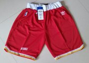 Wholesale Cheap Houston Rockets Red Throwback Short