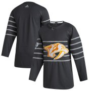 Wholesale Cheap Men's Nashville Predators Adidas Gray 2020 NHL All-Star Game Authentic Jersey