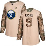 Wholesale Cheap Adidas Sabres #9 Jack Eichel Camo Authentic 2017 Veterans Day Stitched NHL Jersey