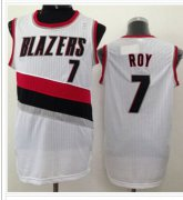 Wholesale Cheap Revolution 30 Portland Trail Blazers #7 Brandon Roy White NBA Jersey