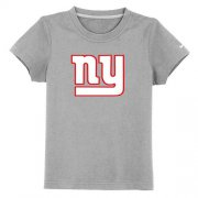Wholesale Cheap New York Giants Sideline Legend Authentic Logo Youth T-Shirt Grey