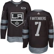 Wholesale Cheap Adidas Kings #7 Oscar Fantenberg Black 1917-2017 100th Anniversary Stitched NHL Jersey