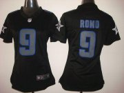 Wholesale Cheap Nike Cowboys #9 Tony Romo Black Impact Women's Stitched NFL Limited Jersey