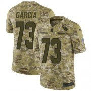 Wholesale Cheap Nike Cardinals #73 Max Garcia Camo Men's Stitched NFL Limited 2018 Salute To Service Jersey