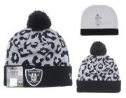 Wholesale Cheap Oakland Raiders Beanies YD017