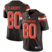 Wholesale Cheap Nike Browns #80 Jarvis Landry Brown Team Color Youth Stitched NFL Vapor Untouchable Limited Jersey