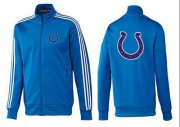 Wholesale Cheap NFL Indianapolis Colts Team Logo Jacket Blue_3