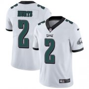 Wholesale Cheap Nike Eagles #2 Jalen Hurts White Youth Stitched NFL Vapor Untouchable Limited Jersey