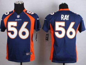 Wholesale Cheap Nike Broncos #56 Shane Ray Blue Alternate Youth Stitched NFL New Elite Jersey